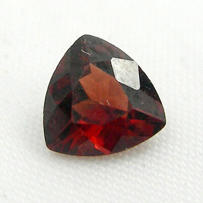 6x6mm Trilliant Fancy Cut Natural Red Garnet Pyrope Loose Gemstone 0.94 carats