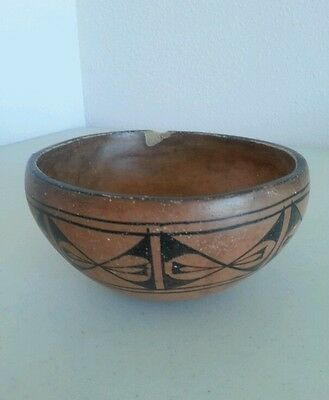 Historic Cochiti Native American Western Indian Pottery Bowl