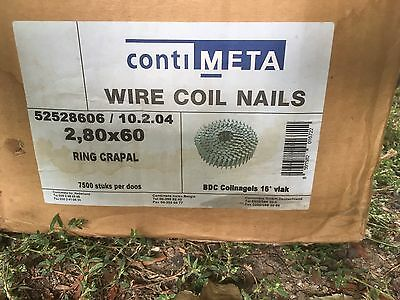 10000 Wire coil nails