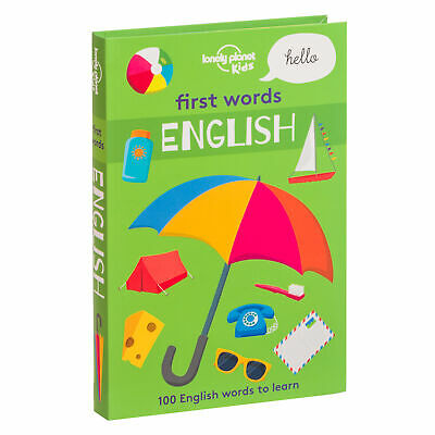 NEW Lonely Planet First Words English