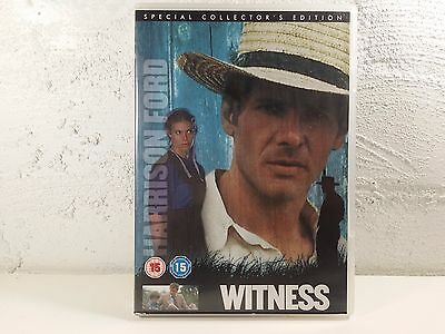 WITNESS DVD FILM Movie Harrison Ford Kelly Mcgillis Amish Story