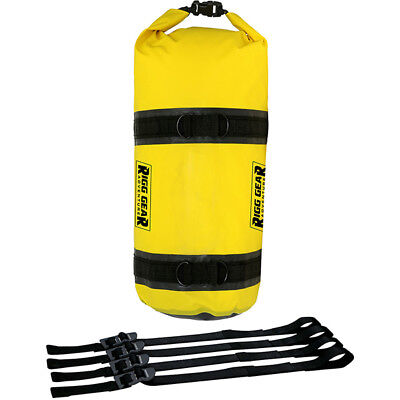 Nelson Rigg NEW SE-1015 Yellow 15L Adventure Dry Motorcycle Touring Roll Bag
