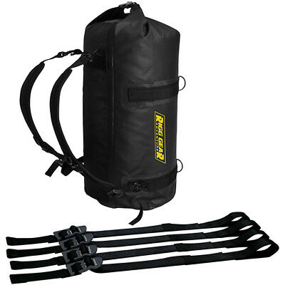 Nelson Rigg NEW SE-1030 Black 30L Adventure Dry Motorcycle Touring Roll Bag