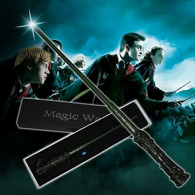 UK Potter Style Characters Cast Led Magical Magic Wand Cosplay Party w/box