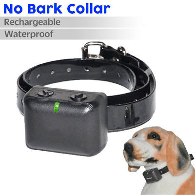 Rechargeable Dog Stop Barking Automatic Anti Bark Vibration Training Collar