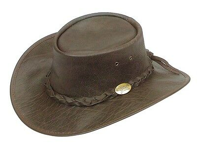 STOCKMAN water repellent Buffalo waxed Leather hat Horse riding camping hunting