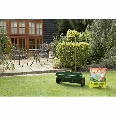 EverGreen Easy Spreader Plus Lawn Care Weed Killer Seeds Feed