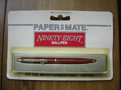 Vintage Papermate Ninety Eight Ball Pen Unopened