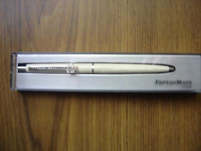 Vintage Papermate Blue Biro Pen in case