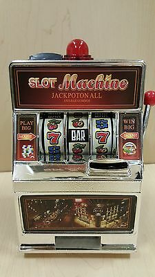 Table top games Slot machine coin bank