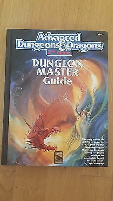 Advanced Dungeons and Dragons, 2nd Edition Dungeon Master Guide (Hardback Cover)