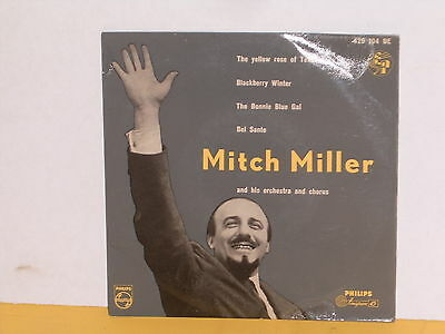 "Single 7"" - Mitch Miller - The Yellow Rose Of Texas - Ep"