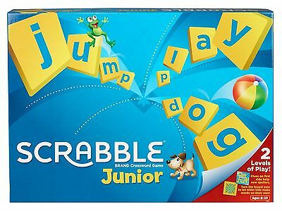 Scrabble Junior , NEW SEALED, BOXED, FREE EXRESS DELIVERY FROM UK