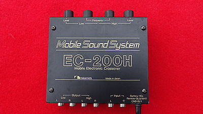 Nakamichi EC-200H Audiophile High End Mobile Electronic Crossover