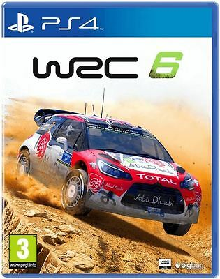 WRC 6 PS4 PlayStation 4 - Sealed - Free Shipping