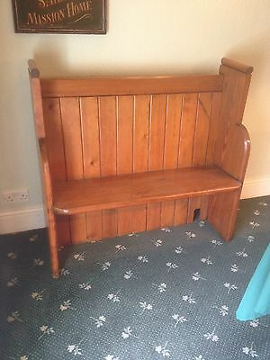 Pitch Pine Pew/ Settle