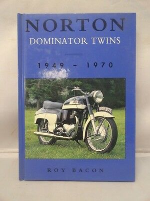 Norton Dominator Twins 1949-1970 by Roy Bacon British Motorcycles