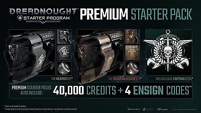Dreadnought PC game Premium Starter Pack **in game content key emailed ASAP**