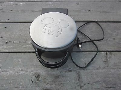 Rare Disney Mickey Mouse Waffle Iron Special Edition by Villaware 5555-19 CA1