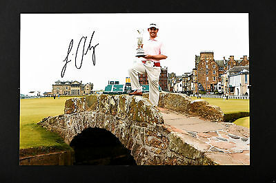 LOUIS OOSTHUIZEN GOLF HAND SIGNED PHOTO AUTHENTIC GENUINE + COA - 12x8