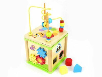 NEW Top Bright GOGE 5 IN 1 ACTIVITY CUBE for Kids 12mths+