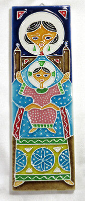 Mother & Child Wall Tile