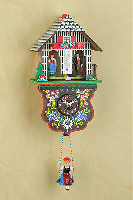 Black Forest Clock Pendulum Clock Kuckulino with Cuckoo Made in Germany 2025SQ