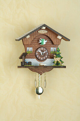Kuckulino Pendulum Clock Cuckoo Black Forest Made in Germany 2011PQ