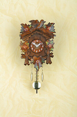 Kuckulino Pendulum Clock with Cuckoo Quartz Movement Made in Germany 2016PQ