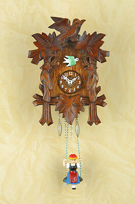 Kuckulino Swing Clock with Cuckoo Pendulettes Coucou Made in Germany 2002SQ