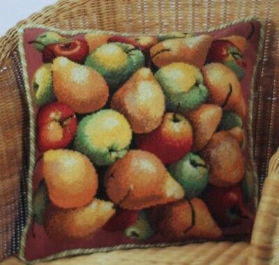 Ehrman Designer ELIAN MCCREADY Tapestry Chart Only ORCHARD BOUNTY two charts bag