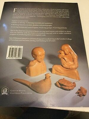 Figure Carving in Wood: Human and Animal Forms by Sarah Wilkinson (Paperback, 2…