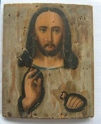 Antique Orthodox Icon 18 - 19th century.
