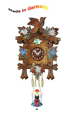 BLACK FOREST Kuckulino Swing Clock, Cuckoo,Made in Germany Gift