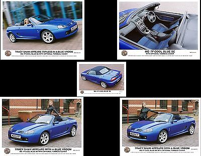 Mg Rover Press Photos Tracy Shaw Mf Tf Cool Blue