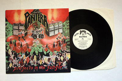 PANTERA Projects In The Jungle VERY RARE FIRST ORIGINAL PRESS LP