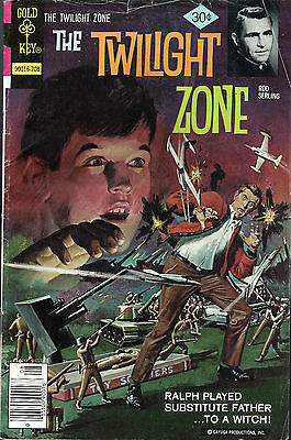 THE TWILIGHT ZONE #79  Aug 77