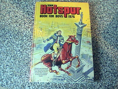 The Hotspur Book For Boys  1976