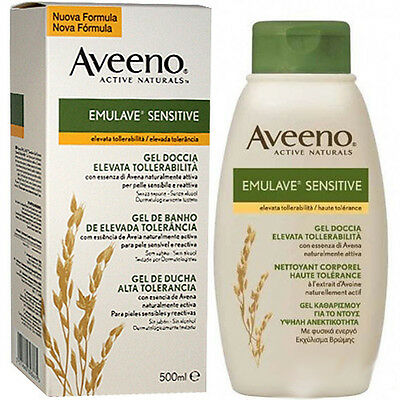 Aveeno Emulave Sensitive gel doccia 500ml