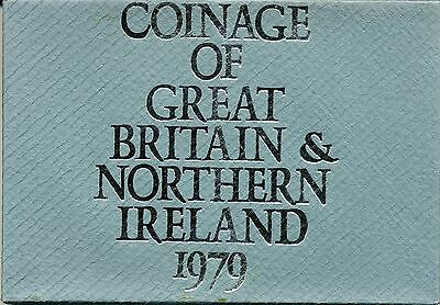 Coinage of Great Britain and Northern Ireland 1979 Proof Set