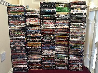 Huge Bundle Of DVDs And Box Sets Over 300 Carboot Market Joblot Boxset Bluray