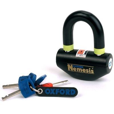 Oxford Nemesis Disc Lock 16mm Ultra Strong Motorbike Motorcycle Lock New