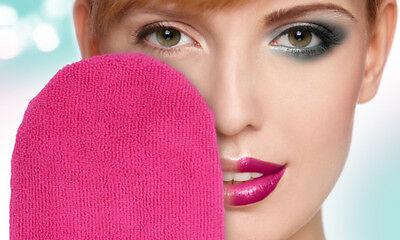 Magic Facial Mitt, Make Up Remover Cleaner Glove, Use With Water, Long Lasting