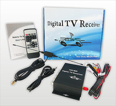 Car Digital TV Mobile receiver ATSC USA Mexico, Canada  Turner Box CVBS Android