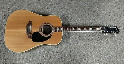 Vintage Epiphone 6834E 12 String Acoustic Guitar Made in Japan PROJECT