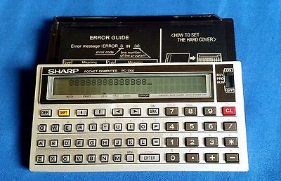 SHARP PC-1260 Vintage Scientific Calculator/ calcolatrice