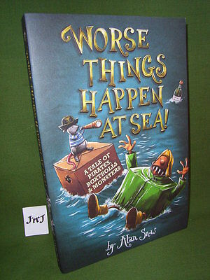 Alan Snow Worse Things Happen At Sea! Paperback Edition New
