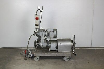 Eurodrive R60 Centrifugal Pump, Rig Assembly, 3 Phase Motor, Water Treatment