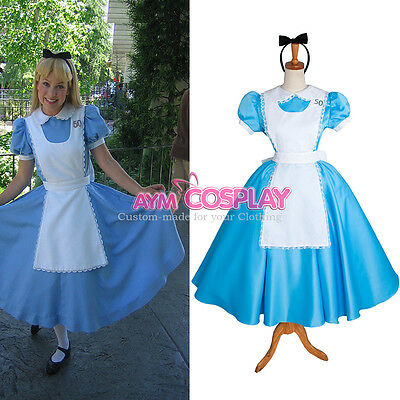 lockable Sissy maid Alice dress Unisex cosplay Tailor-made[CK370]