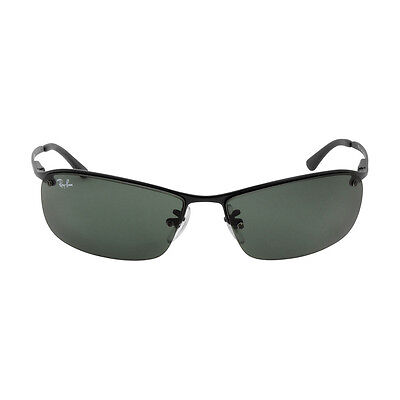 Ray-Ban Metal Frame Green Classic Lens Sunglasses RB3183